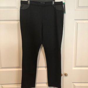 New DKNY stretch waist slacks